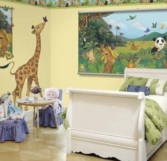Find This Pin And More On Kids Bedrooms Jungle Safari And Animal Theme Room Decor