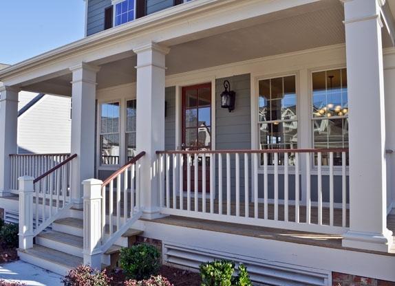 Love big front porches!