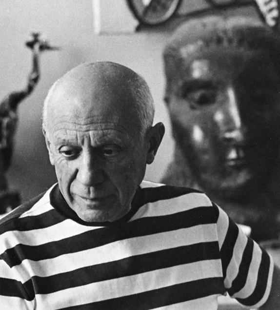 Pablo Picasso, René Burri.