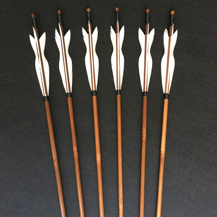 Medieval Bamboo Traditional Wooden Hunting Archery Arrow