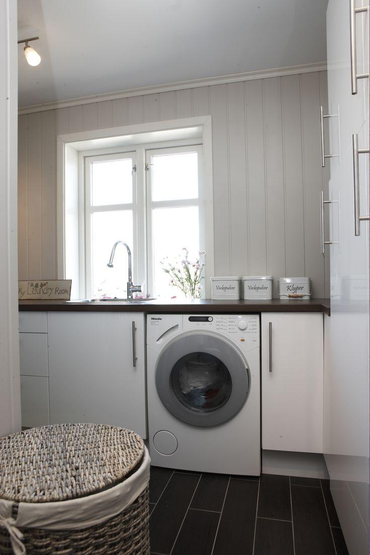 En hyggelig plass å ta klesvasken