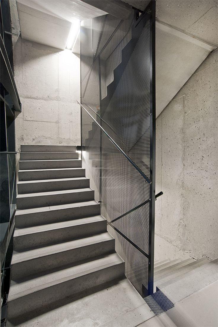 Best 25 loft office ideas on pinterest loft room for Office stairs design