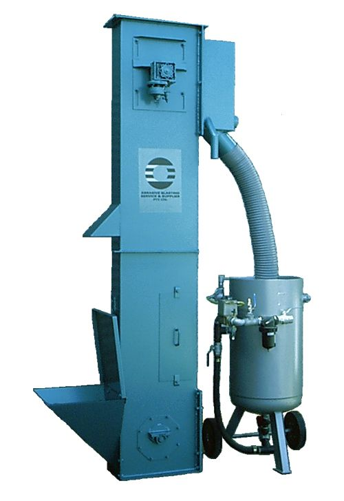 Abrasive Blasting - Bucket Elevator