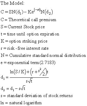 Valuing stock options