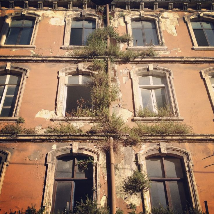 Karakoy, Istanbul, Turkey Old apartment