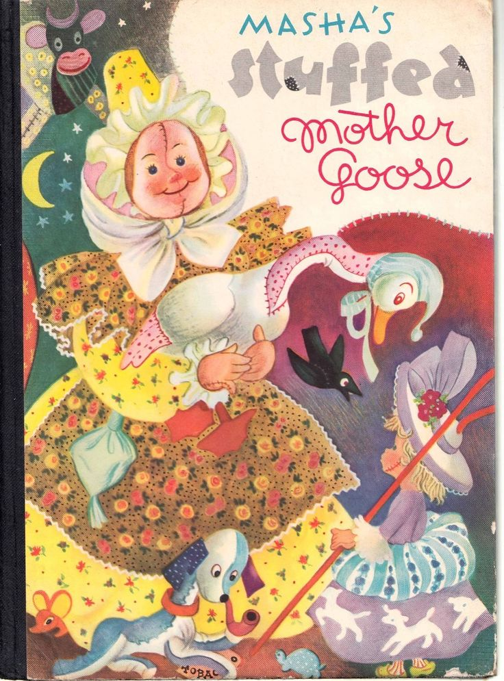 Masha's Stuffed Mother Goose,1946 | eBay