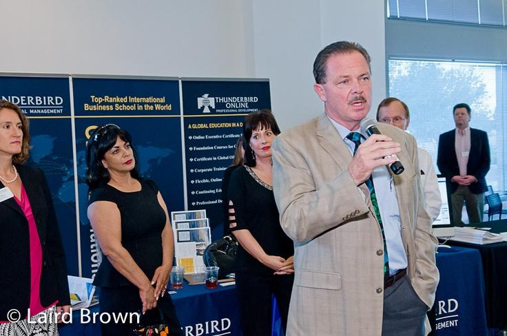 Grow Globally 2012 - Scottsdale Mayor Jim Lane with Thunderbird Online and Thunderbird Executive Education