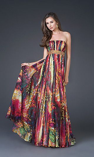 Long Special Occasion Dress by La Femme 15916 at PromGirl.com