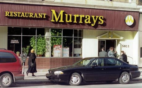 Murray's restaurant WOW I didn't think id find this
