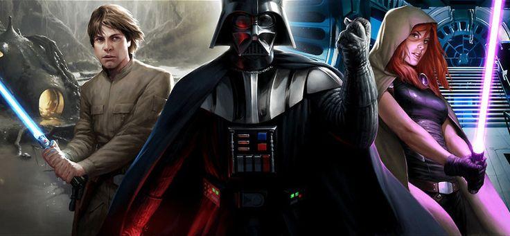 Звездные Войны,Star Wars,фэндомы,Дарт Вейдер,Мара Джейд,Люк Скайуокер