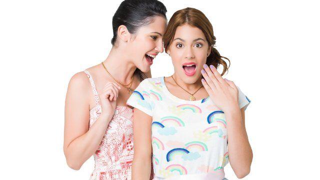 Martina Stoessel and Lodovica Comello in Violetta (2012)
