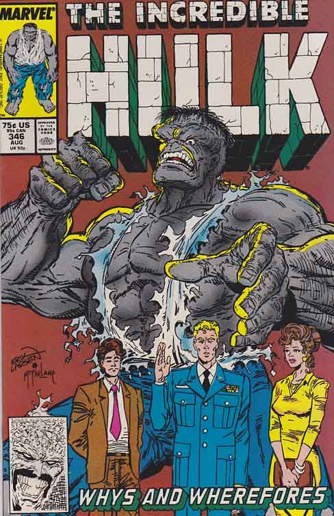 The Hulk is a fictional character, a superhero in the Marvel Comics Universe. Created by Stan Lee and Jack Kirby, the character first appeared in The Incredible Hulk #1 (May 1962).