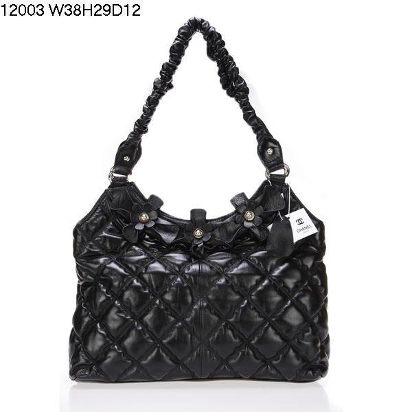 2012 Chanel bags 12003 Black