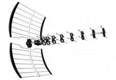 Antenne-rateau tnt avec filtre 4G-LTE 17,5dB