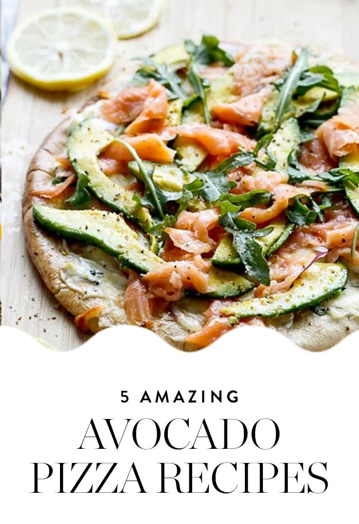 Avocado Pizza Is the New Avo Toast. Here's How to Make It at Home via @PureWow