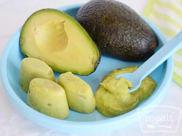 This is a simple recipe for avocado and banana puree, perfect for your baby's growing tastes.