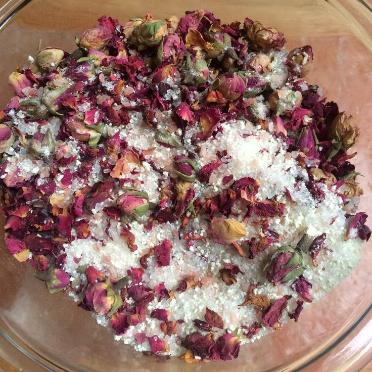 Fresh Picked Beauty: True Love Rosy Bath Crystals