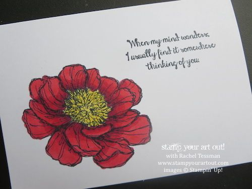 Bloom With Hope stamp set and Blendabilities markers – New products from Stampin' Up!® - Stamp Your Art Out! www.stampyourartout.com
