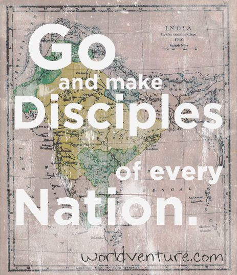 """or the Greek says, """"As your going, make disciples of all nations"""" The nations are around us even where we are in our schools and cities, we are always able to share Gospel hospitality and love!"""
