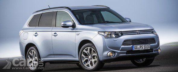 Mitsubishi Outlander Plug-in Hybrid Electric Vehicle (PHEV) starts European sales. http://www.carsuk.net/mitsubishi-outlander-plug-hybrid-electric-vehicle-phev-starts-european-sales/