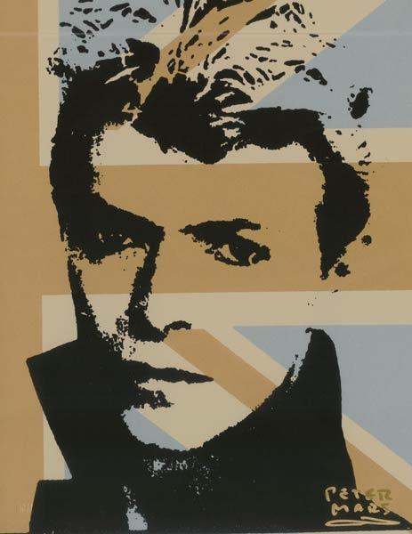 David Bowie   Peter Mars Authentic, pop art