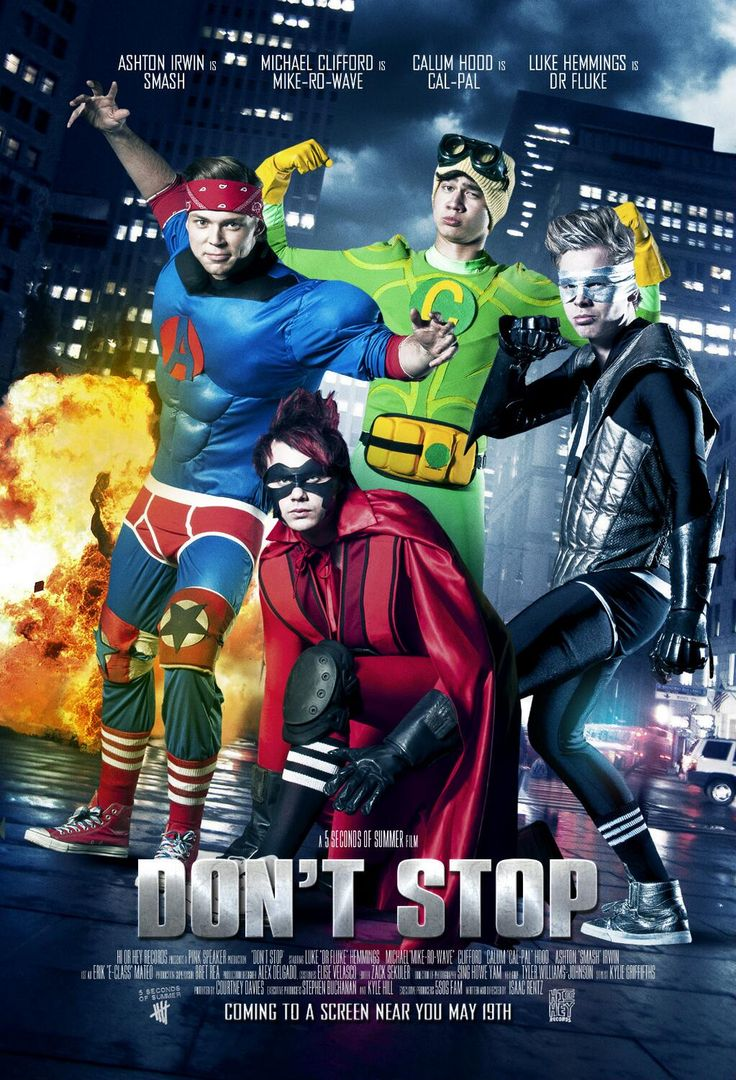 """""""@ASHTON IRWING: #DONTSTOPMUSICVIDEO coming to a screen near you, May 19 @ 7am GMT / 4pm AEST. #5sosASSEMBLE pic.twitter.com/4QBIZkB33Y"""""""