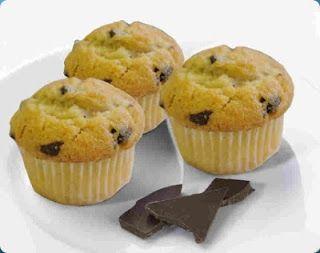 Cuochi per caso...o per forza!!: Muffin con gocce di cioccolato