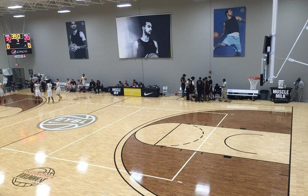 Court 4 is the Trey Lyles Court this week at the EYBL Indy - 4/22/16.