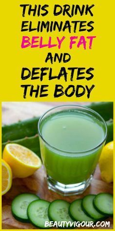 This Drink Eliminates Belly Fat And Deflates The Body