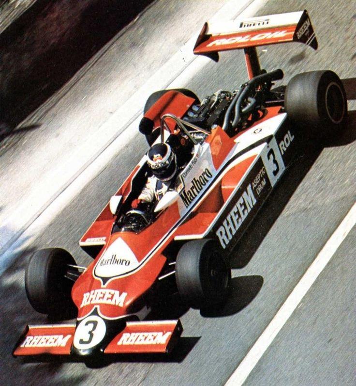 Corrado Fabi - March 812 BMW - March racing Ltd with Roloil - Grand Prix de Pau 1981