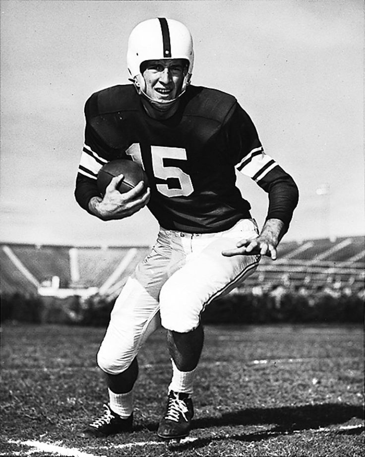 University of Oklahoma quarterback Jimmy Harris (1955)