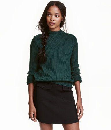 Ribbineulepusero   Smaragdinvihreä   Naiset   H&M FI