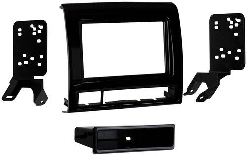 Metra - Dash Kit for Select 2012-2015 Toyota Tacoma - Black