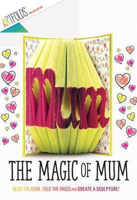 make your own book art for Mother's Day!