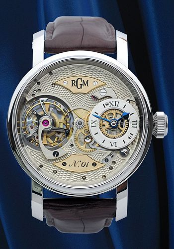 Pennsylvania Tourbillon Watch (MM2) from RGM Watch Company • Made in Pennsylvania