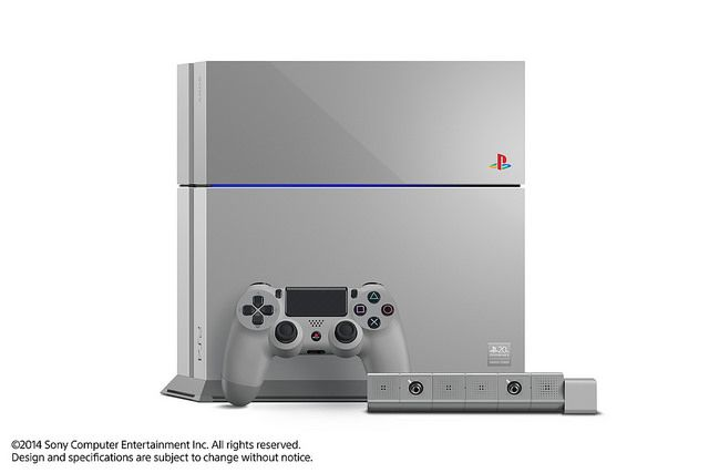 PS4 20th Anniversary Edition - Only 12,300 units will be made. DAMN I WANT ONE