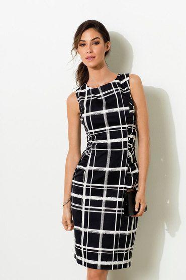 Buy Phase Eight Greta Checked Shift Dress   Shop SAP Unresolved at the BrandStore EziBuy NZ