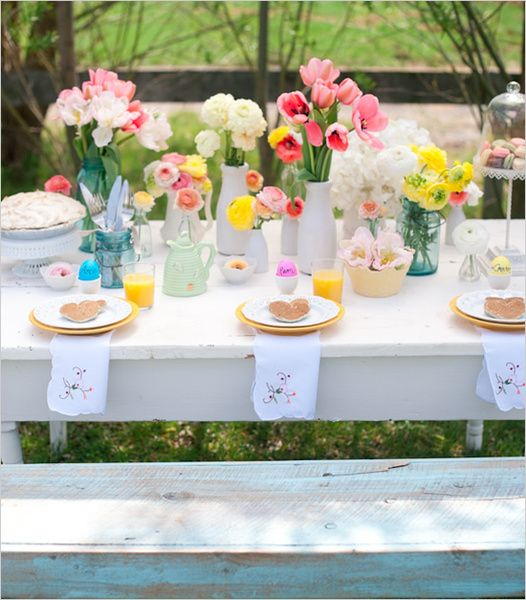 The perfect summer wedding table!