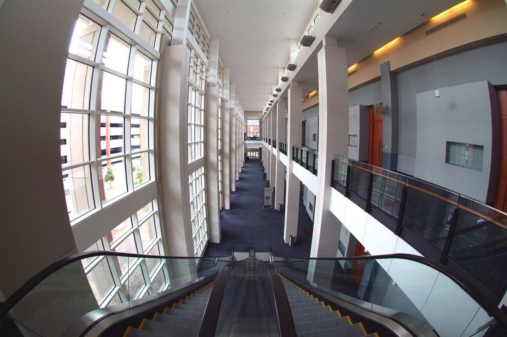 Greater Richmond Convention Center Exhibit Hall Foyer.