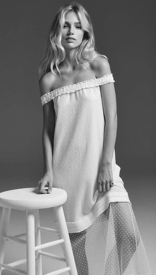 Mixing delicate fabrics and bohemian cuts, Lein is our new favorite place in New York for an unusual wedding dress.