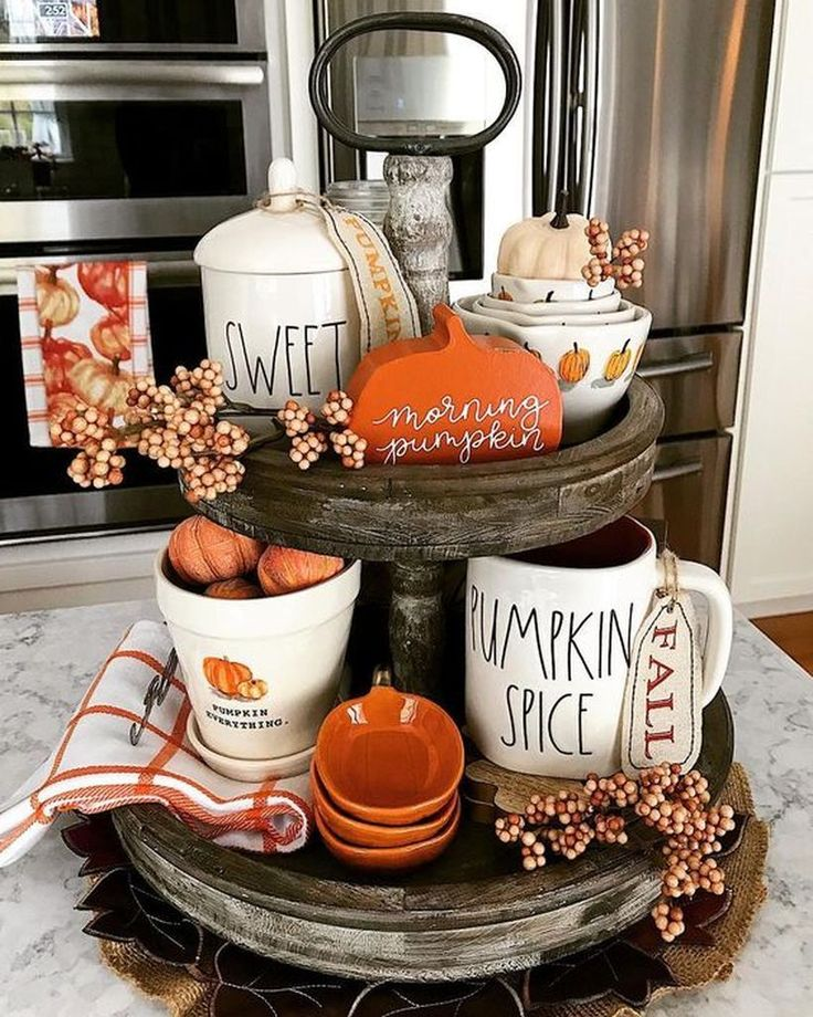 20 Interesting Pumpkin Decoration Ideas to Make Ev…