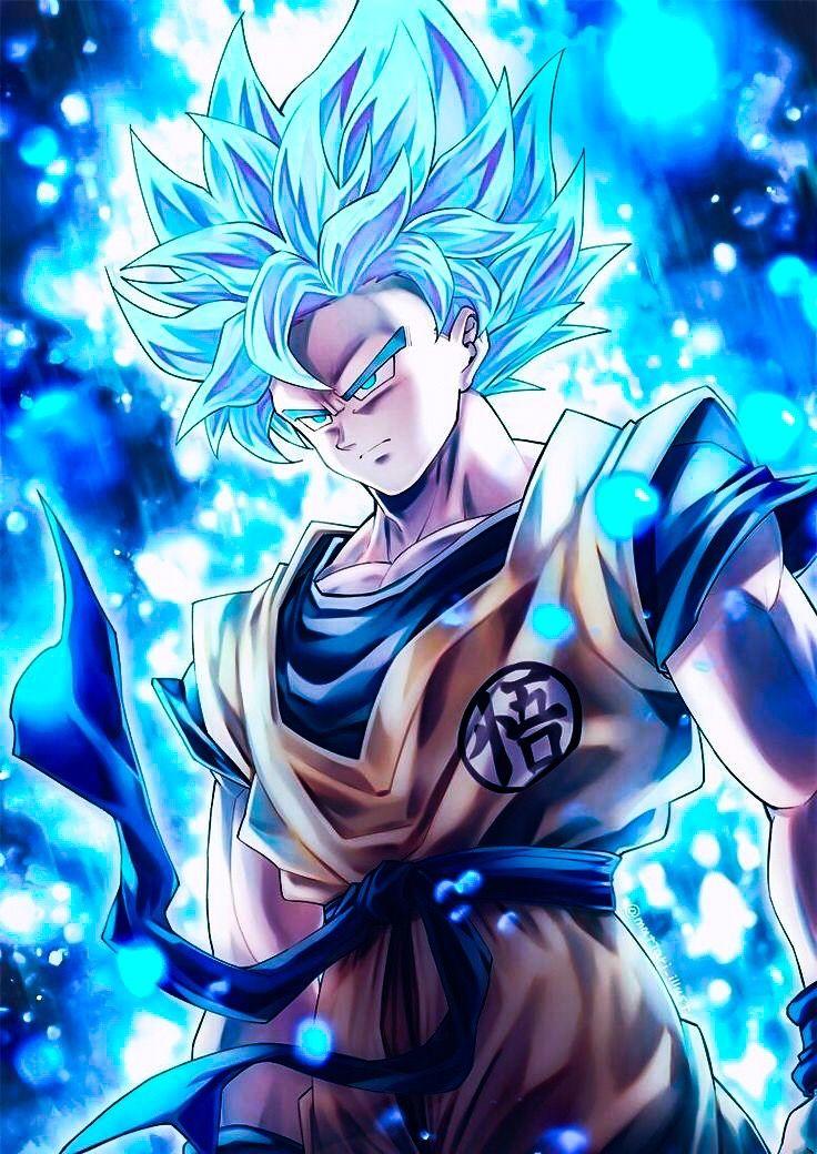 Goku supersaiyanblue anime dragonball dragonballsuper