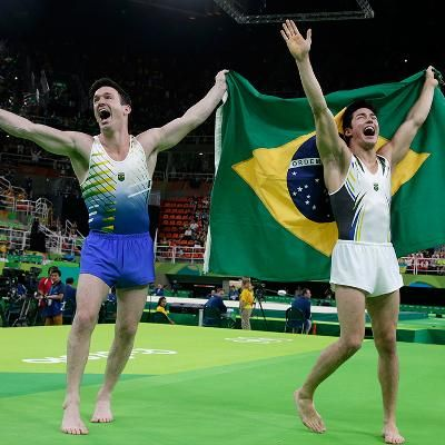 Buzzing: Brazilian Fans Cheer for Joy as 2 Male Gymnasts Unexpectedly Triumph on Floor Beating Out Top Names