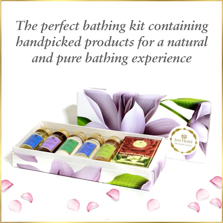 Just Herbs Luxe Bathing Gift Set. The perfect bathing kit containing handpicked products for a natural and pure bathing experience  Shop at - www.justherbs.in/product/just-herbs-luxe-bathing-gift-set  #forallskintypes #haircare #skincare #handmadebathingbar #shatpatri #justherbsindia #crueltyfree #petacertified