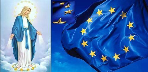 Die wahre Geschichte der 12 Sterne auf der EU - Flagge - Crown of Mary, Queen of Heaven