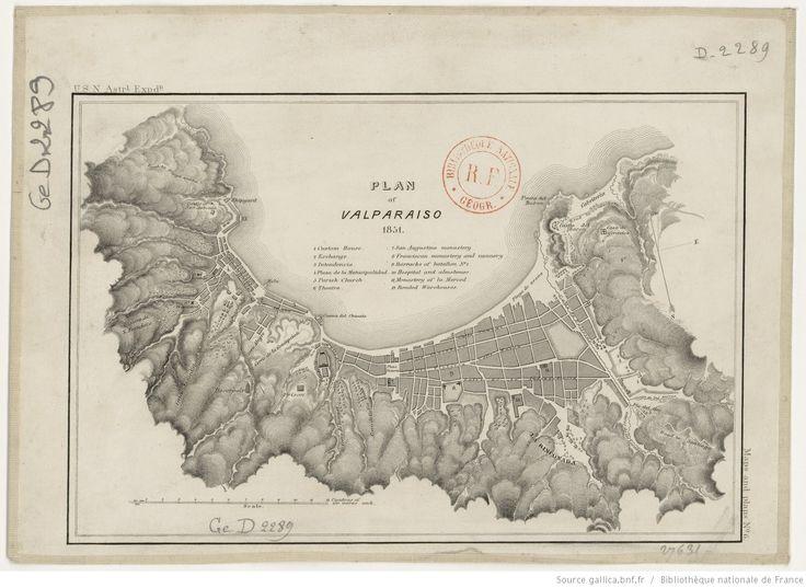 Plan of Valparaiso | Gallica
