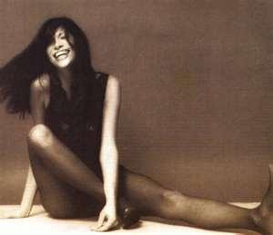 Carly Simon, she wrote all my theme songs thru age 40