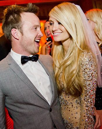 How about a co-ed bachelor/bachelorette party? Aaron Paul and fiance Lauren Parsekian did just that, before tying the knot earlier this year.