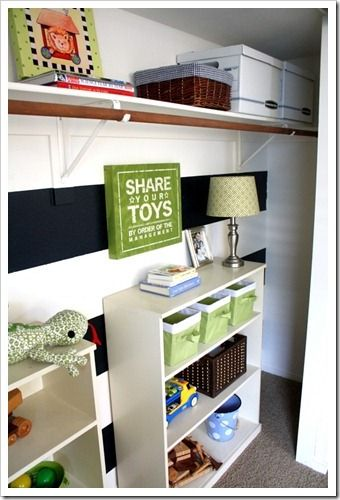 Green Accented Boys Room