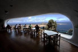 Mirador del Rio, Lanzarote.  Designed by Cesar Manrique.